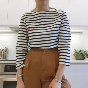 ❤️3/$30: Vintage stripe top